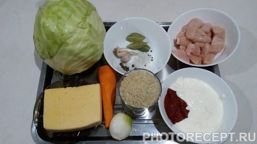 Фото рецепта - Голубцы запеченные в сливочно-томатном соусе под сырной коркой - шаг 1