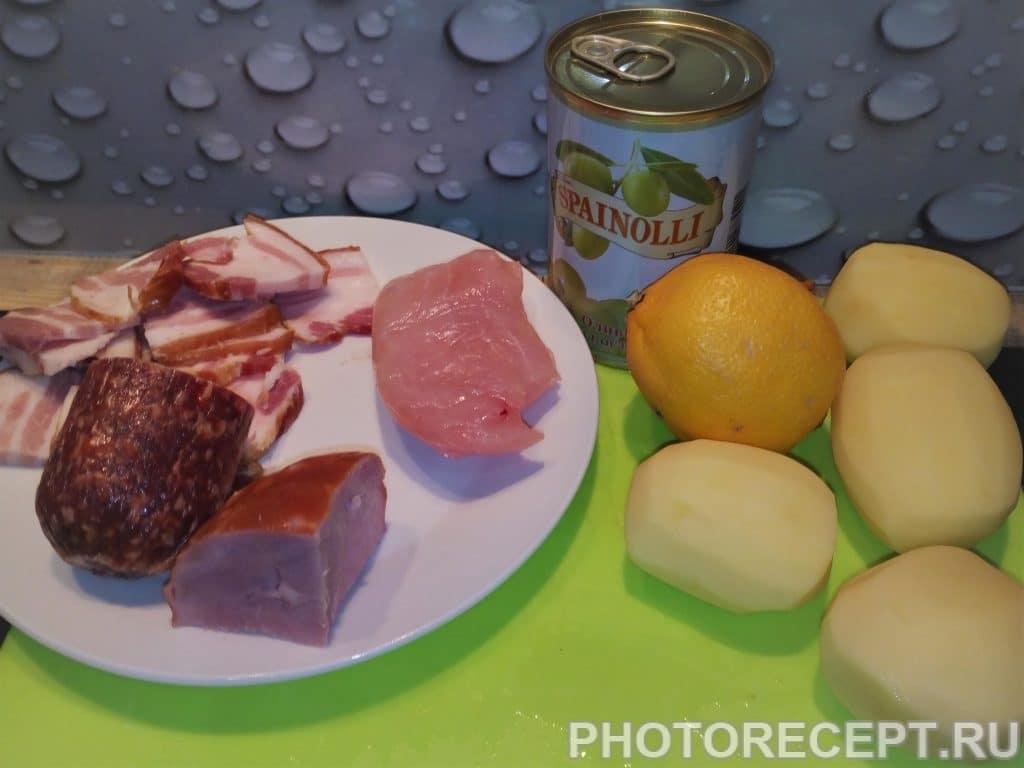 Фото рецепта - Экспресс солянка - шаг 1