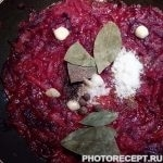 Фото рецепта - Борщ без мяса - шаг 7