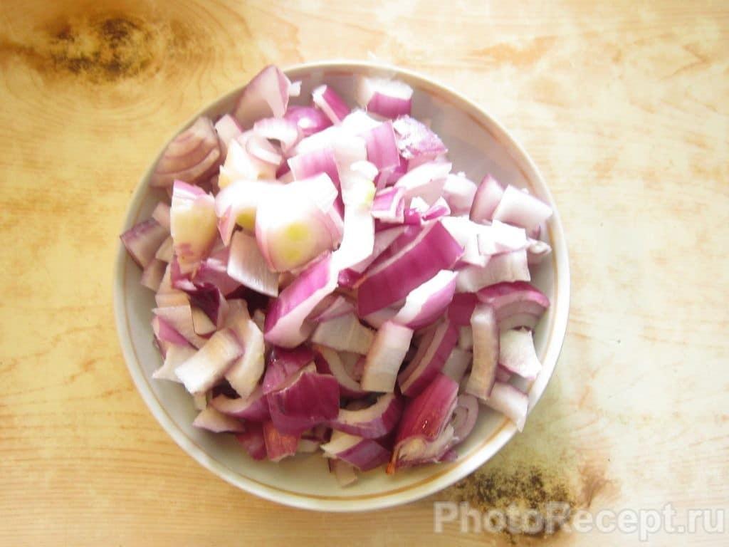 Фото рецепта - Жареная картошка с мясом - шаг 4