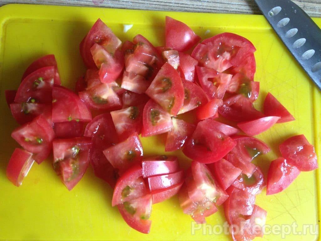 Фото рецепта - Овощное рагу с адыгейским сыром - шаг 6