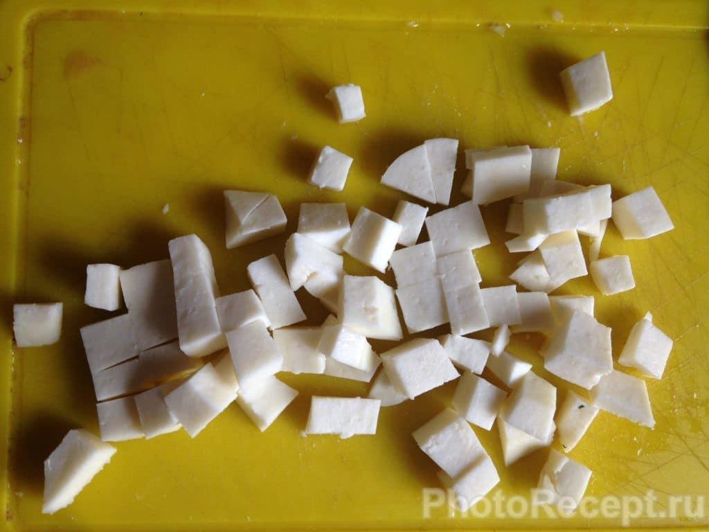 Фото рецепта - Овощное рагу с адыгейским сыром - шаг 7