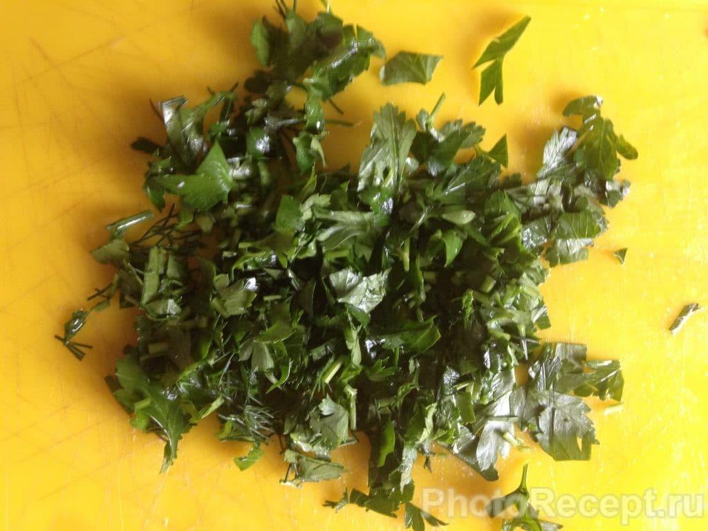 Фото рецепта - Овощное рагу с адыгейским сыром - шаг 8