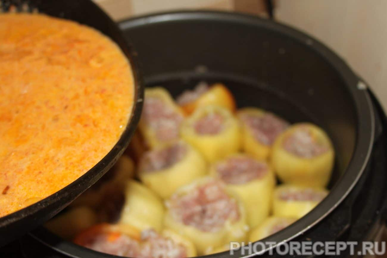Фаршированные перцы с курицей в духовке пошаговый рецепт