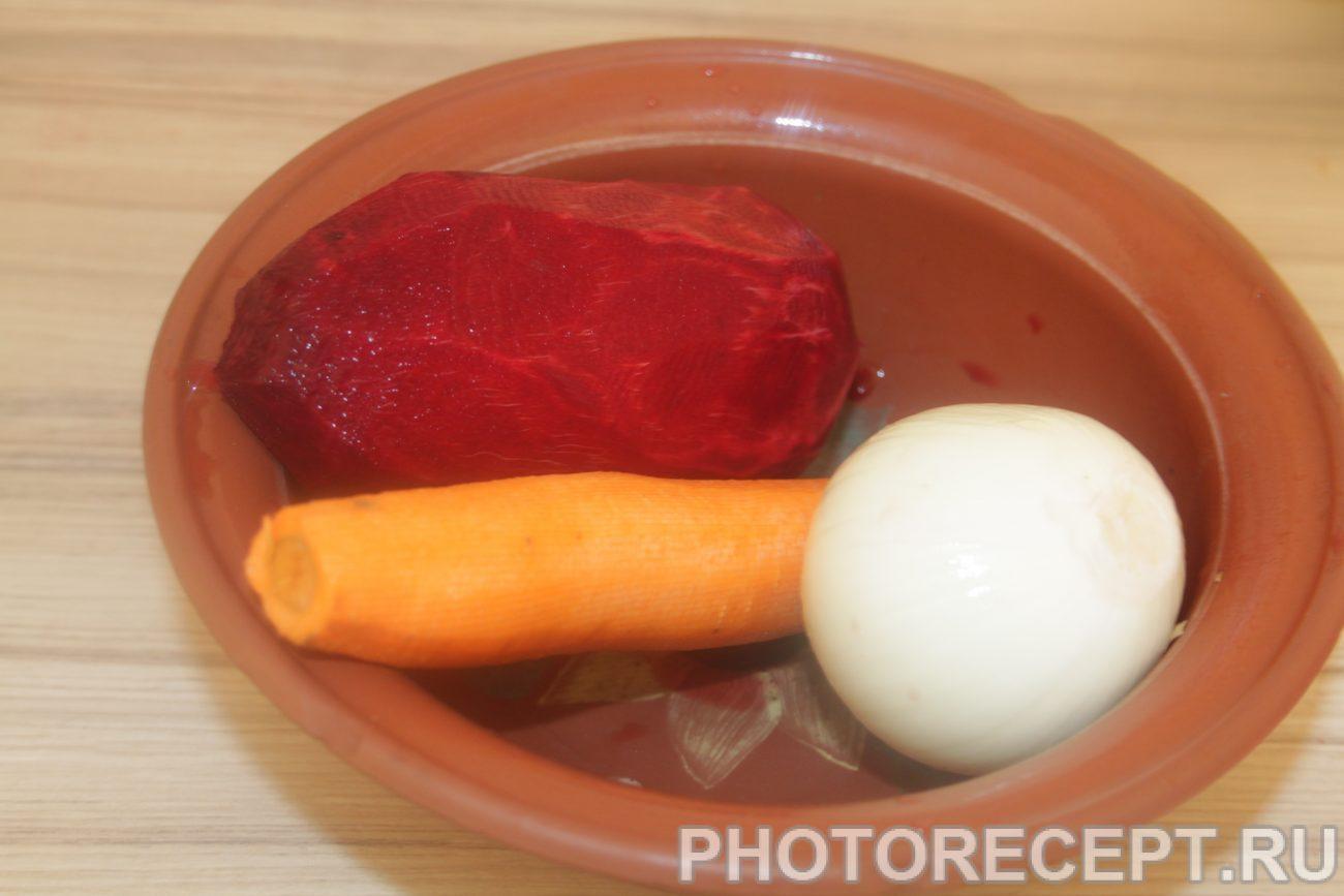 Борщ со свеклой рецепт пошагово