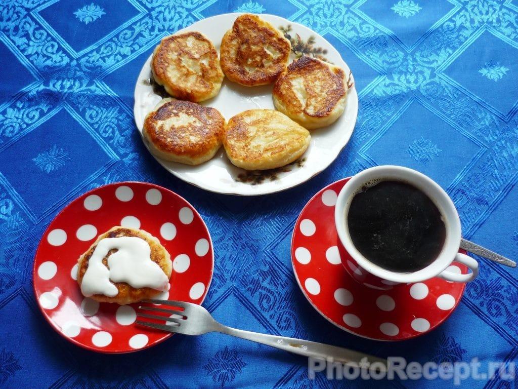 Фото рецепта - Бабушкины сырники - шаг 6