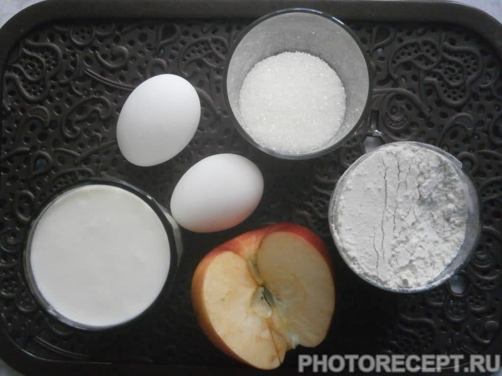 Фото рецепта - Оладьи яблочные «Осенние» - шаг 1