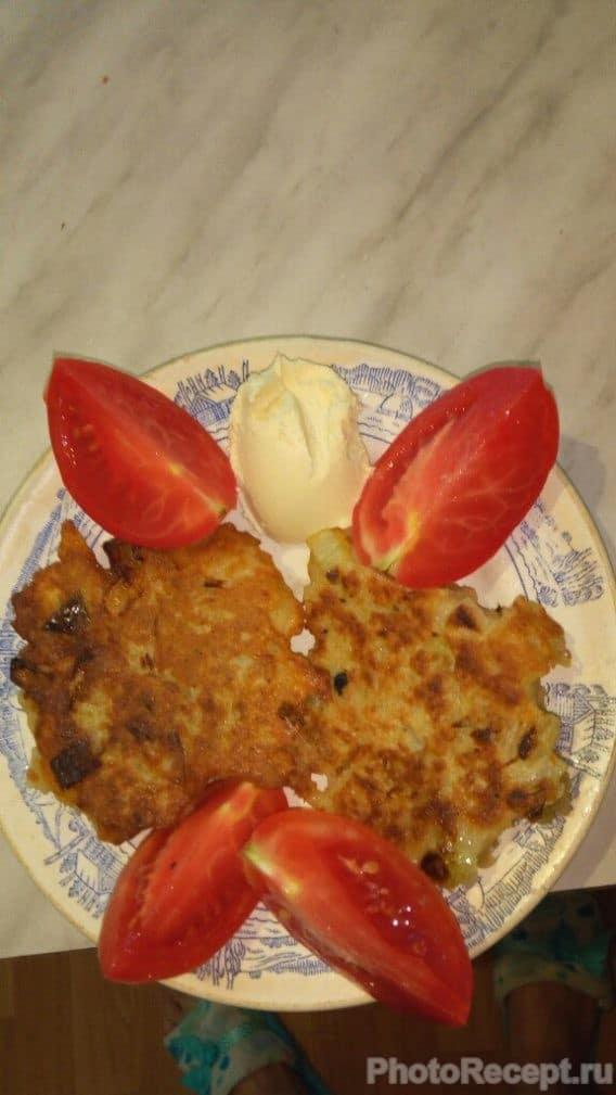 Фото рецепта - Картофельные драники  по-домашнему - шаг 7