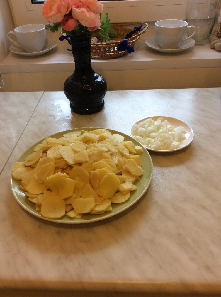 Фото рецепта - Картошка по-французски - шаг 1