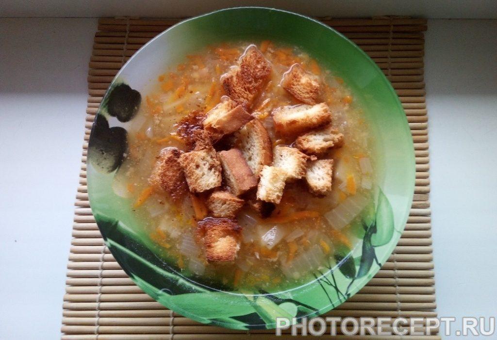 Фото рецепта - Гороховый суп в мультиварке - шаг 8
