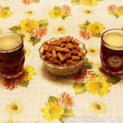 Гренки со вкусом грибов - рецепт с фото