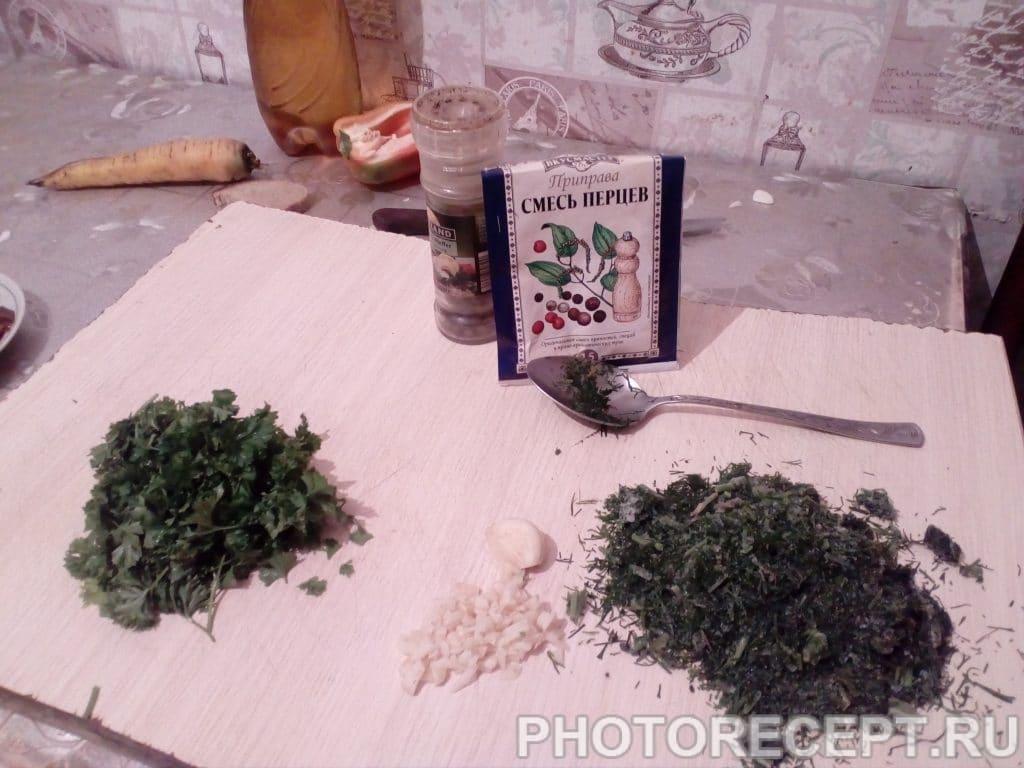 Фото рецепта - Настоящий украинский борщ - шаг 9