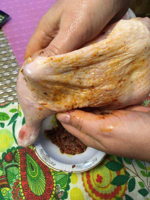 Фото рецепта - Ароматные куриные ножки с хрустящей корочкой - шаг 3