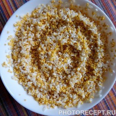 Фото рецепта - Тыквенная каша с медом и изюмом «Золотая осень» - шаг 2