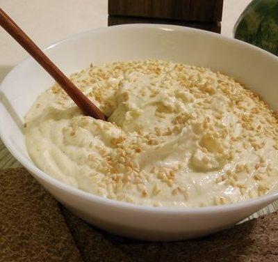 Хумус с кунжутом - рецепт с фото