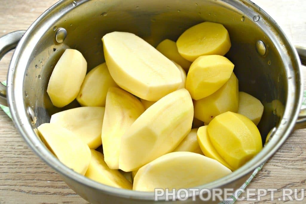 Фото рецепта - Картофельное пюре с молоком и сливочным маслом - шаг 1