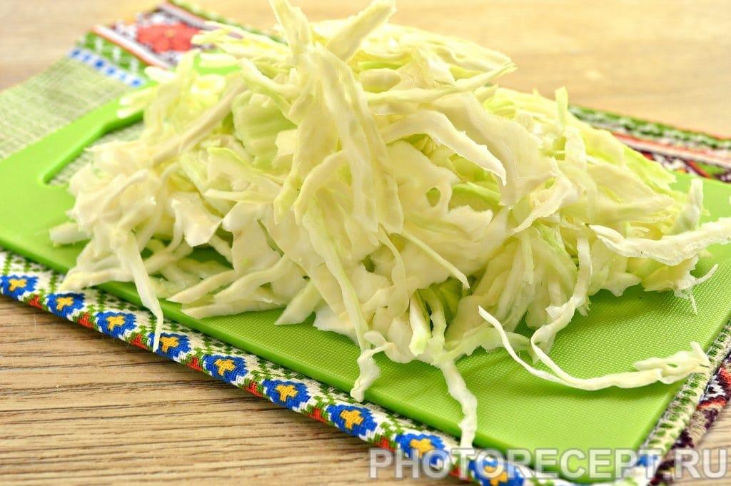 Фото рецепта - Щи из свежей капусты на говяжьем бульоне - шаг 1
