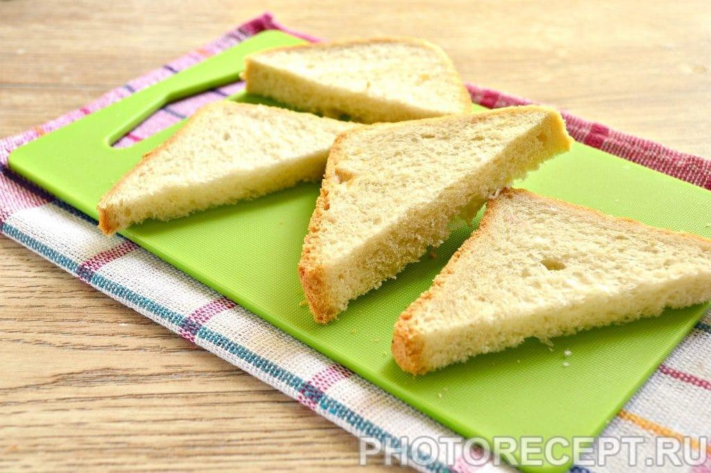 Фото рецепта - Сладкие гренки на сковороде - шаг 1