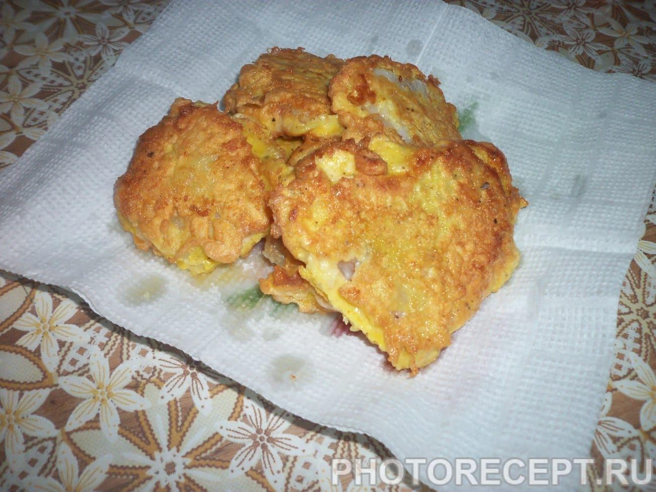 Филе минтая жареное рецепт пошагово