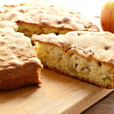Быстрый яблочный пирог - рецепт с фото