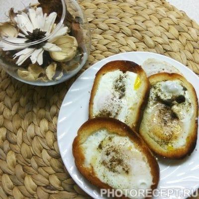 Студенческая яичница - рецепт с фото
