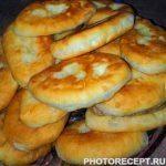 Жареные пирожки с картошкой и капустой