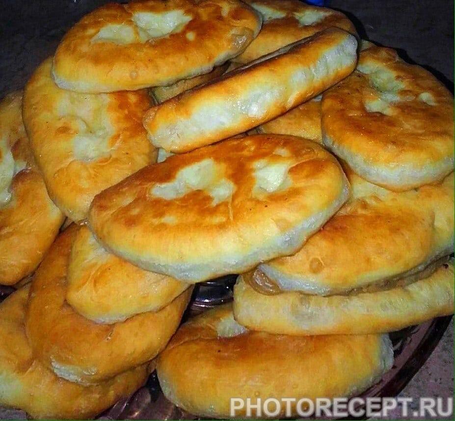 пирожки с капустой и с картошкой