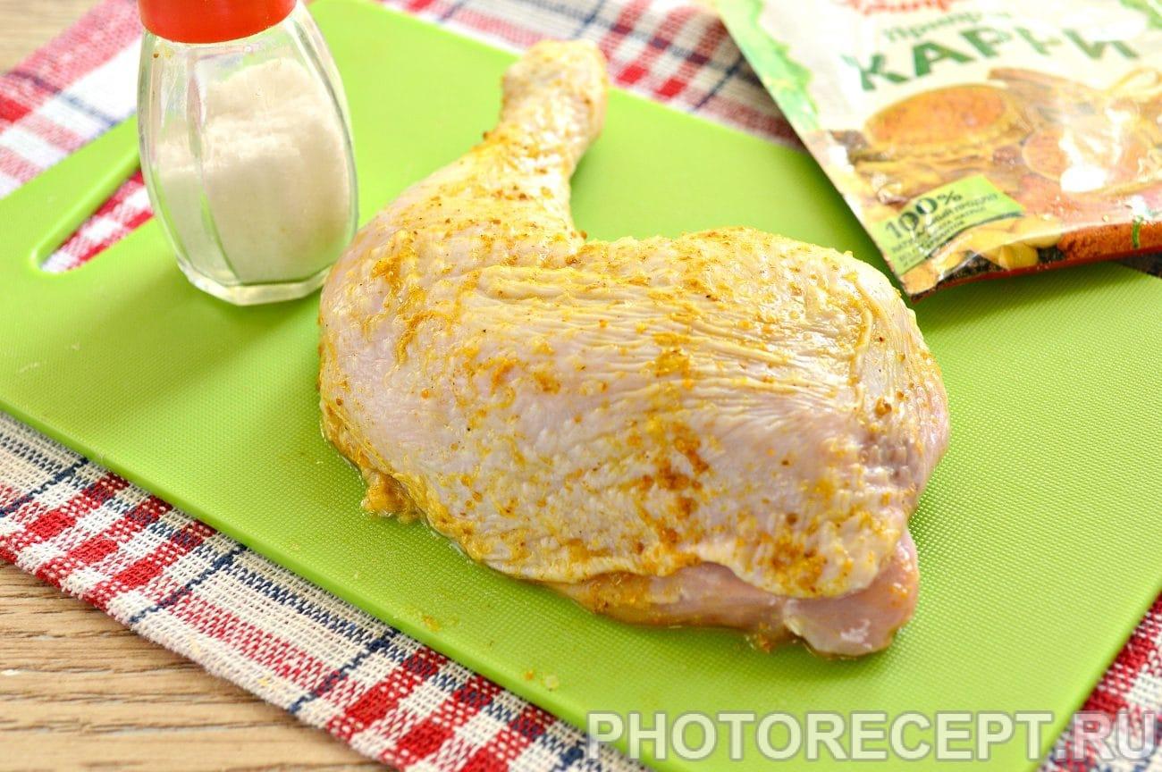 Рецепт куриных голеней в духовке в фольге