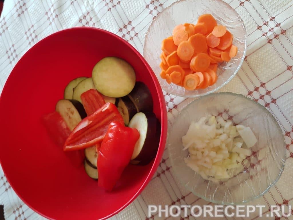 Фото рецепта - Нежные куриные сердечки с овощами - шаг 2