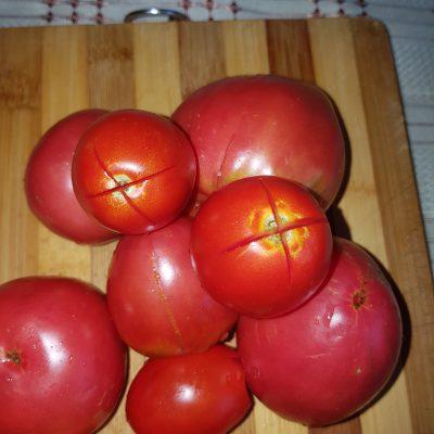 Фото рецепта - Пряный  гаспачо — овощной суп - шаг 2