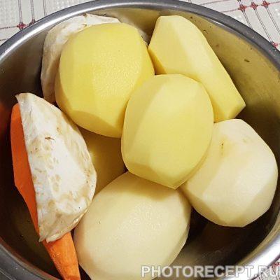 Фото рецепта - Нежный карп с овощами в духовке - шаг 3