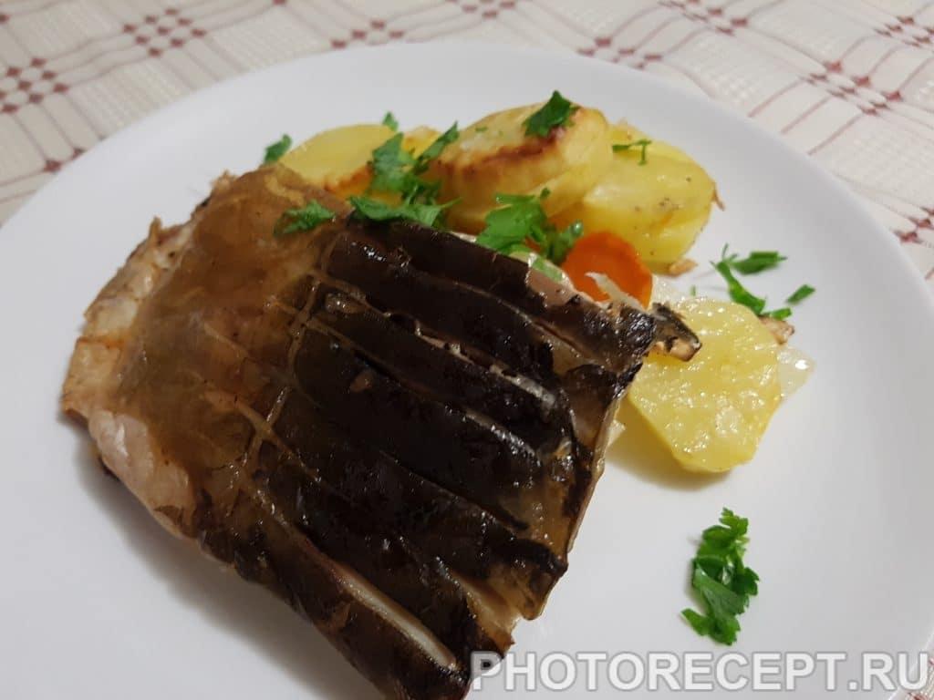 Фото рецепта - Нежный карп с овощами в духовке - шаг 5