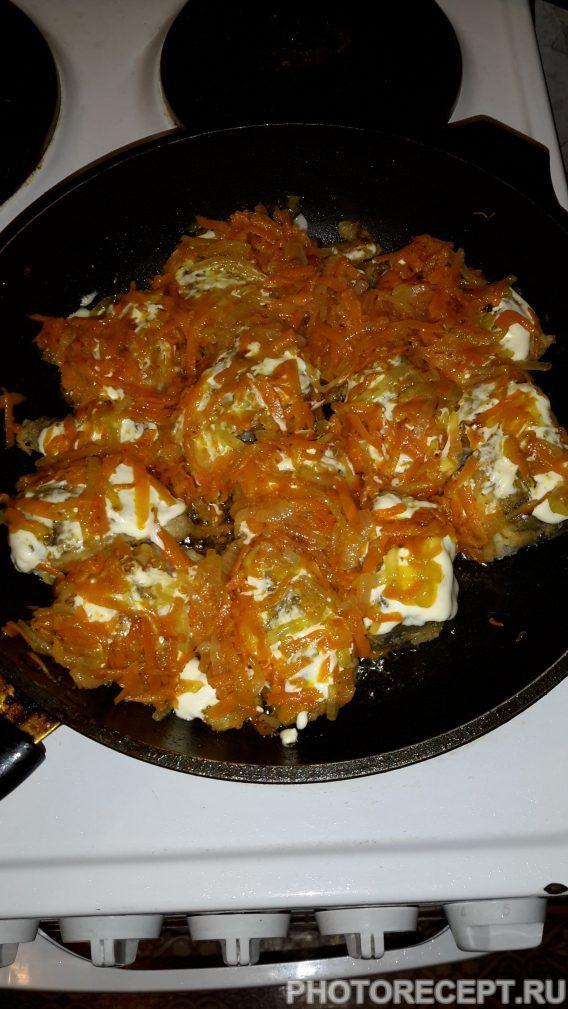 Фото рецепта - Рыба с овощами - шаг 9
