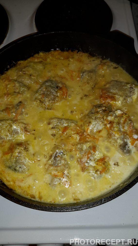 Фото рецепта - Рыба с овощами - шаг 10