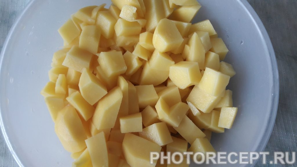 Фото рецепта - Борщ без мяса с фасолью - шаг 2