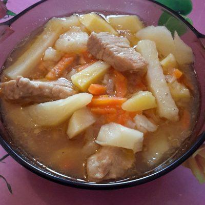 Тушеная картошка - рецепт с фото