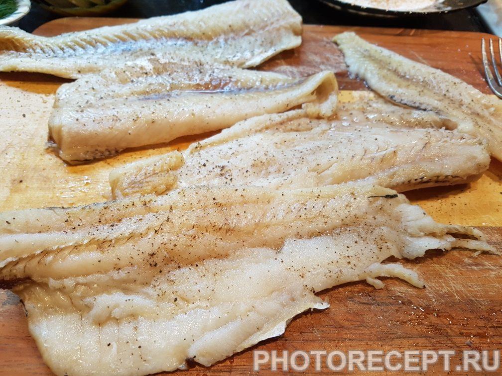 Фото рецепта - Минтай в кляре на сковороде - шаг 2