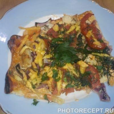 Пицца с куриной грудкой и грибами - рецепт с фото