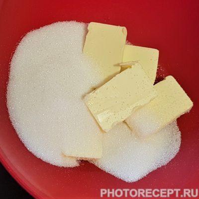 Фото рецепта - Праздничные кексы — капкейки - шаг 1