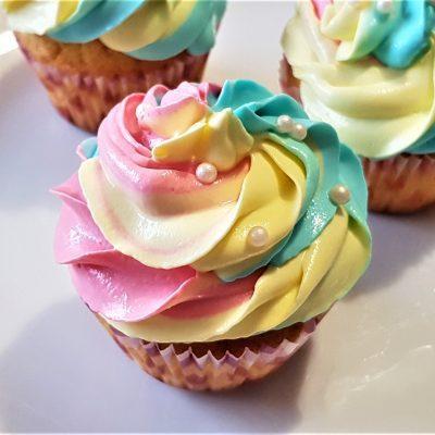 Праздничные кексы — капкейки - рецепт с фото