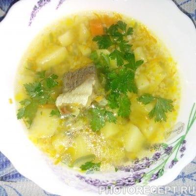 Рыбный суп с пшеном - рецепт с фото