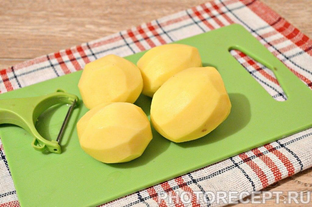 Фото рецепта - Жареная картошка с замороженными грибами - шаг 3