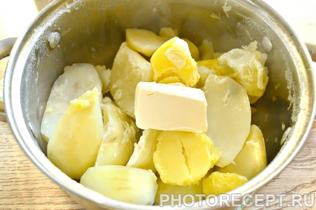 Фото рецепта - Картофельное пюре с молоком и сливочным маслом - шаг 5