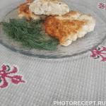 Рубленные котлеты из куриного филе