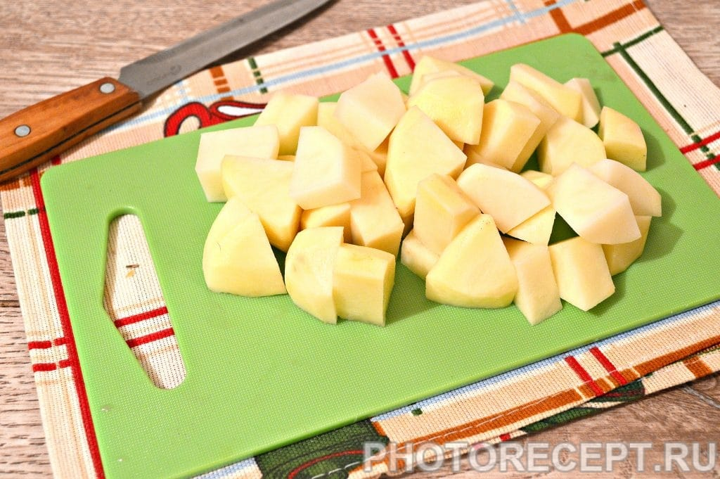Фото рецепта - Курица с картошкой и овощами - шаг 5