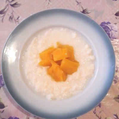 Молочный рисовый суп - рецепт с фото