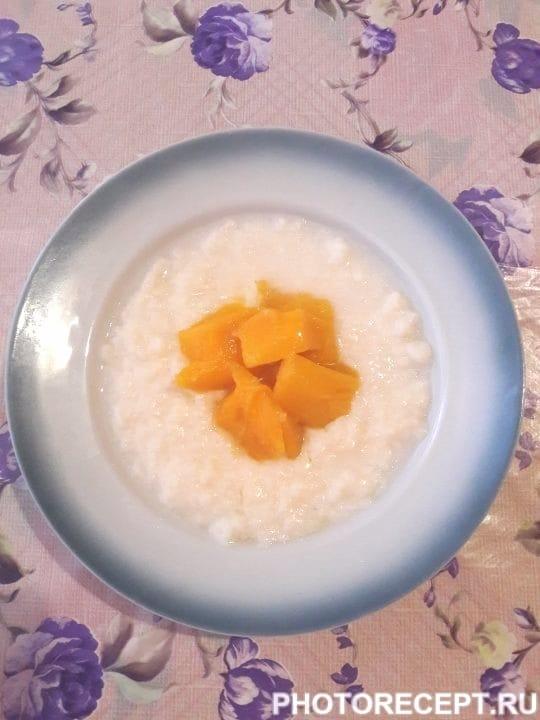 Как сделать молочный рисовый