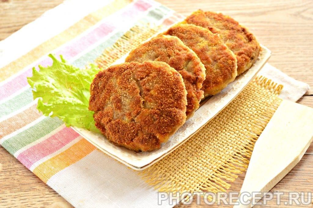 Фото рецепта - Котлеты из мясного фарша с картошкой - шаг 7