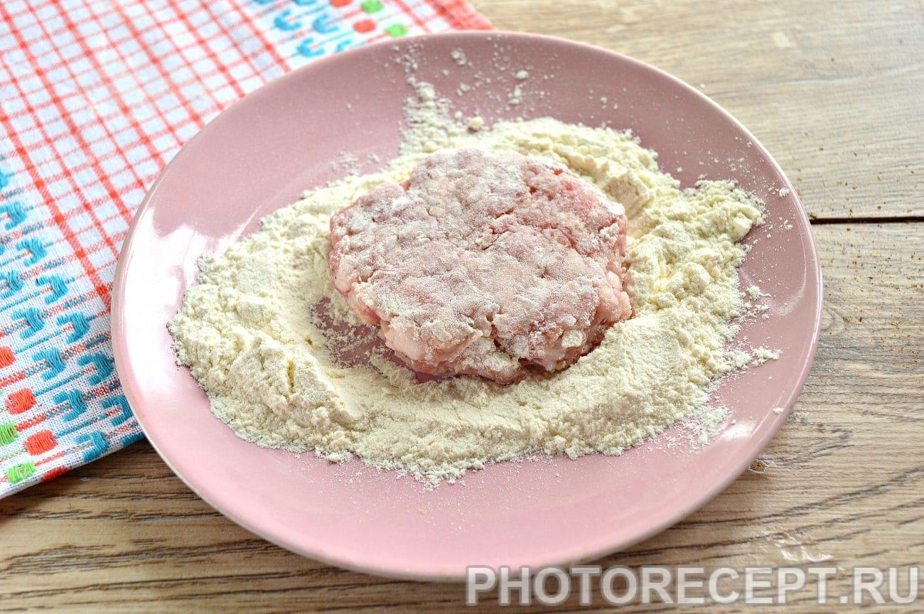 Шницель из свиного фарша рецепт