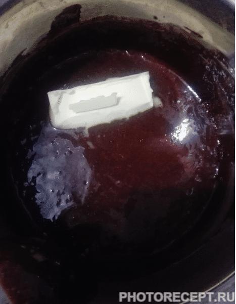 Фото рецепта - Очень шоколадное пирожное - шаг 9